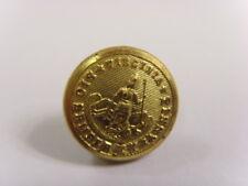 1800s antique golden metal Virginia state uniform button superior quality 50105