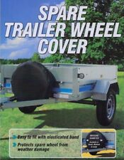 "8"" Trailer Spare Wheel Cover - Suitable for Erde & Daxara Trailers"