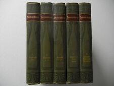 Meyers Klassiker Ausgabe: Immermanns Werke - Band 1 bis 5 komplette Ausgabe