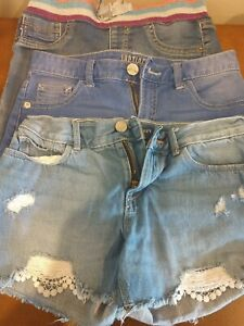 Lot of 3 pair of Jean Shorts- Size 12