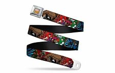 Marvel Comics Retro Inhumans Action Poses Officially Licensed Seatbelt Belt