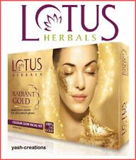 Lotus Herbal Facial Skin Care Revitalizing Effect Radiant Gold Cellular Glow Kit