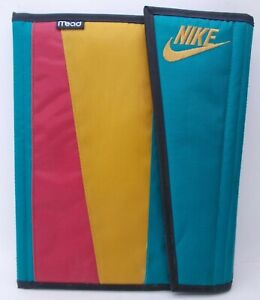 Vintage 90s Nike Mead Trapper Keeper Binder 1994 Rare Red Yellow Green 1994