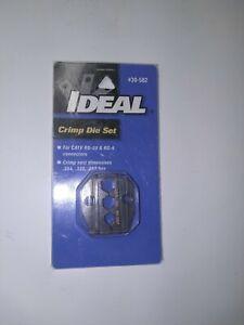 New Ideal Replacement Crimp Die Set #30-582