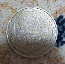 10€ EURO 2012 Rhône-Alpes argent