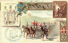Military - Illustrator Chamberry Caserma Bergia viaggiata 04.15