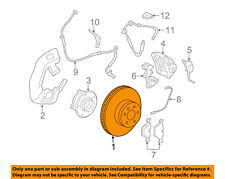BMW OEM 09-15 750Li Front Brake-Disc Rotor 34116785676