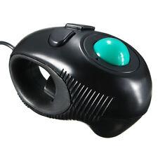 Durable 4D USB Mini Trackball Mouse Finger Handheld Mice Thumb Control For PC 1×