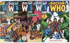 Doctor Who #1 - 12  Complete Run  avg. VF/NM 9.0  Marvel  1984  No Reserve