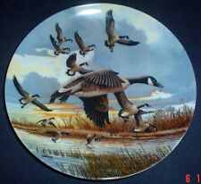 Dominion China Ltd Collectors Plate THE LANDING - Geese