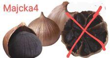 AJO NEGRO FERMENTADO 18 Ajos Fermented BLACK GARLIC 18 bulbs NATURAL