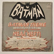 Neal Hefti Batman Theme And 11 Other Bat Songs Lp Vinyl Record Album 12� Dc Tv