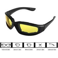 Anti-Glare Motorcycle Glasses Polarized Night Driving Lens Sunglass Glasses X2V5