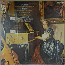 MARRINER Bach, Haydn Harpsichord Concerto LONDON STS 15172 in shrink NM