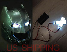 DIY 1:1 Led Light Eyes For Batman Ironman Black Panther Helmet  Eye Mask Fitting