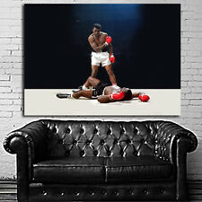 Poster Wall Mural Muhammad Ali Boxer Boxing Figher 35x47 inch (90x120 cm) Canvas
