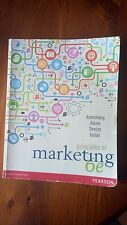 Principles of Marketing Textbook 6th Edition by Armstrong, Adam, Denize, Kotler.