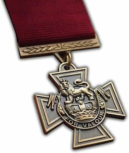 VICTORIA CROSS MEDAL HIGHEST MILITARY AWARD FOR CONSPICUOUS BRAVERY REPRODUCTION
