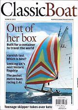 Classic Boat magazine Teenage skipper Best varnish Historic flagship Racing