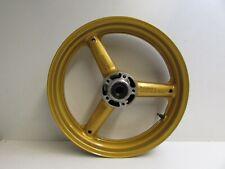 Suzuki GSXR750 Front Wheel, 17 x 3.5, Gold, SRAD, 1996 - 1999 J28