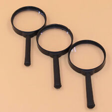 1PC 5X 60mm Hand Held Reading Magnifying Glass Lens Jewelry Loupe Zoomer New F9