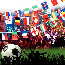 NEW Countries String Flag 25M International World 82ft Bar Party Bunting 100x