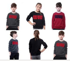 kids unisex  l Sweatshirt Top Pullover Sweater Heavy Blend Size 3/4 to 9/10