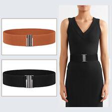 JASGOOD 2pcs Women Wide Waist Belt Quality Stretch Elastic Strap with Plus Size