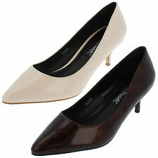 Ladies Anne Michelle Court Shoes Available in 2 Colours Style F9952