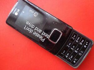 LG Chocolate TG800 (KG800) - BLACK (Unlocked)  SLIDER