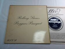 ROLLING STONES BEGGARS BANQUET UK ORIGINAL EXPORT JAPAN FFRR LONDON DECCA