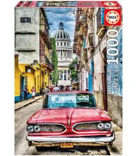 1000 coche en la Habana puzzle educa
