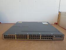 CISCO WS-C3750X-48T-L SWITCH 48 10/100/1000 Ethernet ports