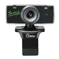 Pro Streaming USB 2.0 Webcam HD Camera for Streaming Recording GA