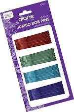 "Diane 2.5"" Jumbo Bob Pins, Assorted Colors, 40/card"