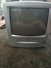 """LG TV CRT de 14"""" Reproductor Vhs Combo Retro Gaming VCR KE-14P2B no remoto"""