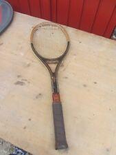 ancienne raquette tennis bois HEAD VILAS pour guillermo vilas argentine ATP