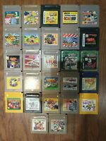 27 Game Lot Nintendo Game Boy, Game Boy Color, GB, GBC Japan Import