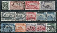 n086) Gibraltar. 1938/51. Used.  Small Collection. Mixed Topics. Royalty c£21+
