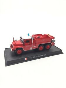 CCFL Acmat 6X6 1985 1/57 n125/150 Trucks Of Firefighters Of Monde Base Fascicle