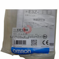New Omron E3Z-LS66 Photoelectric Switch Sensor, NPN Output, M8 20~200mm, Red LED