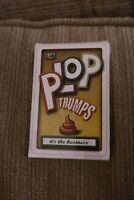 PLOP Trumps - Play and Learn Fun Facts About Poo - Funny Card Game