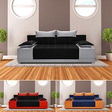 Schlafsofa Vera - Kippsofa Sofa mit Schlaffunktion Klappsofa Bettfunktion, Couch
