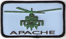 BRAND NEW APACHE HELICOPTER AIR FORCE MILITARY BIKER IRON ON PATCH