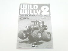 NEW TAMIYA WILD WILLY 2 Manual TW6
