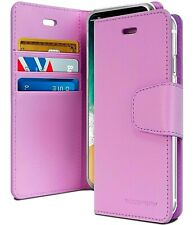 Galaxy Note 9 Genuine MERCURY Goospery Sonata Purple Flip Case Wallet Cover