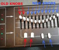 Set of 32 Slider Cap Knobs for Roland Graphic Equalizer SEQ 331 315 Fader
