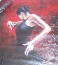 Flamenco salsa tango 20x14 dancer oil painting NOT print/poster Framing Avail