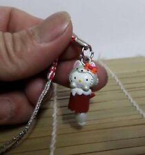 Kwaii Hello Kitty Cosplay Fox Cell Phone Charm Mascot