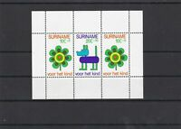 Suriname Mint Never Hinged Stamps Sheet ref R 19386